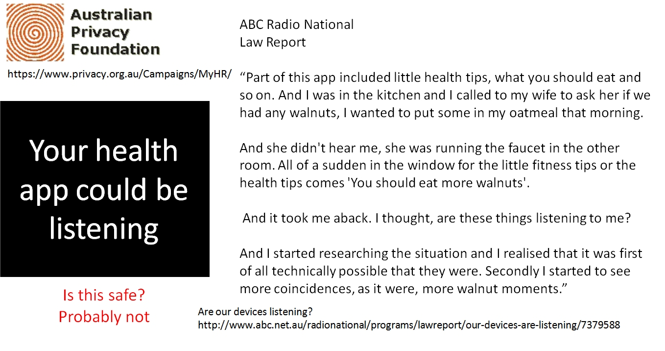 Is your device listening?