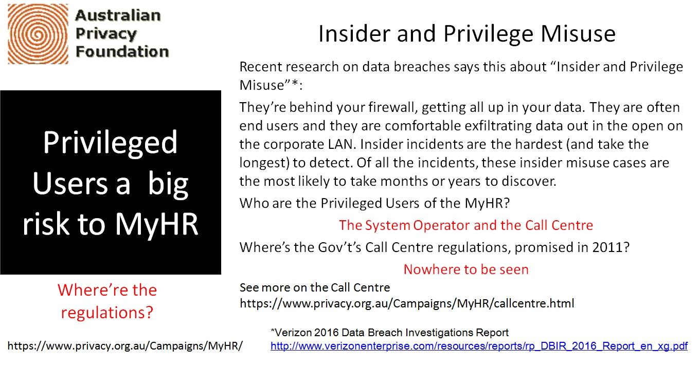 Privaledge users big risk