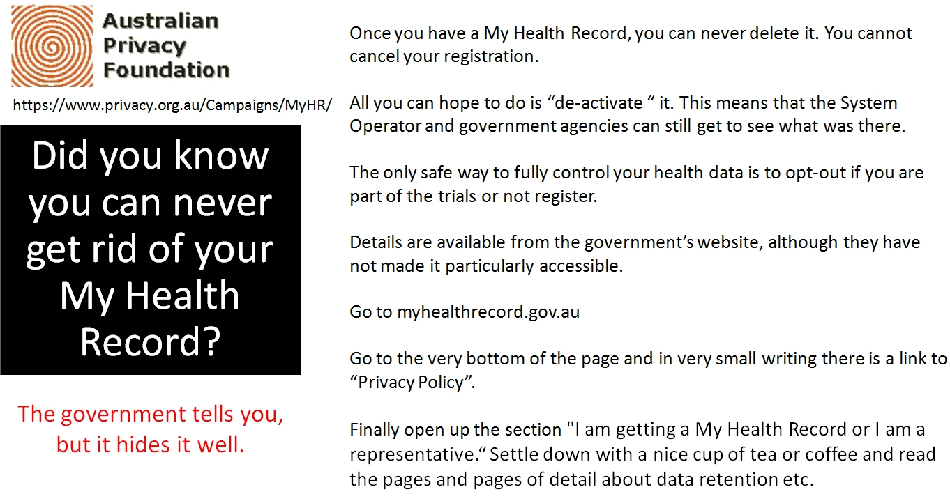 You Can't Cancel your MyHR